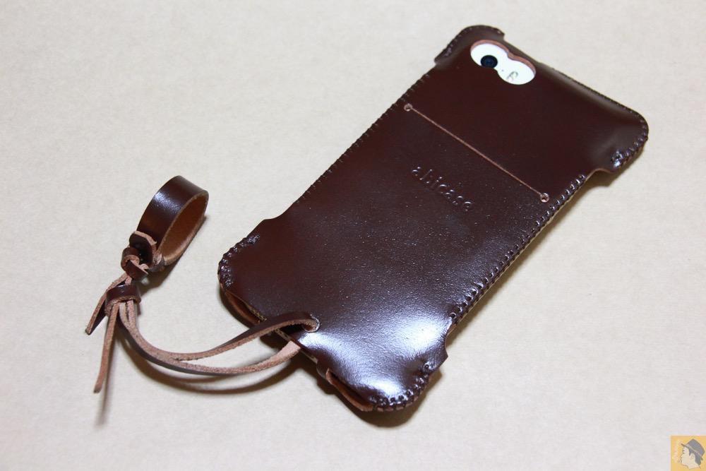 アイキャッチ - abicase(アビケース) cawa ウォレットジャケット コードバン ブラウン / iPhone 5/5s / 革の王様使ったabicase