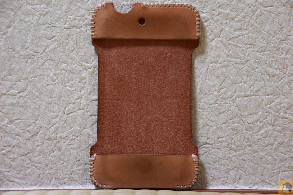 表面 - 初めての革でメンテナンスをよくしたabicase(アビケース)/ abicase cawa シンプルジャケット ヌメ革 / iPhone 4S