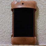 初めての革でメンテナンスをよくしたabicase(アビケース)/ abicase cawa シンプルジャケット ヌメ革 / iPhone 4S