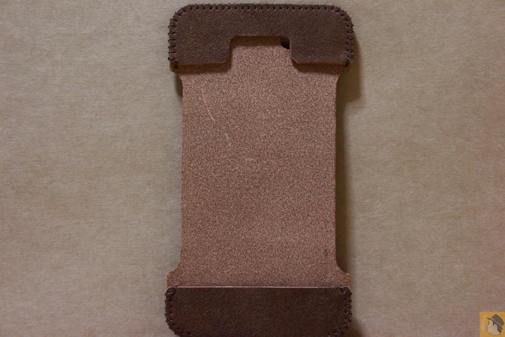 表面 - ペラペラな革使ったabicase(アビケース)/ abicase cawa シンプルジャケット / iPhone 5/5s