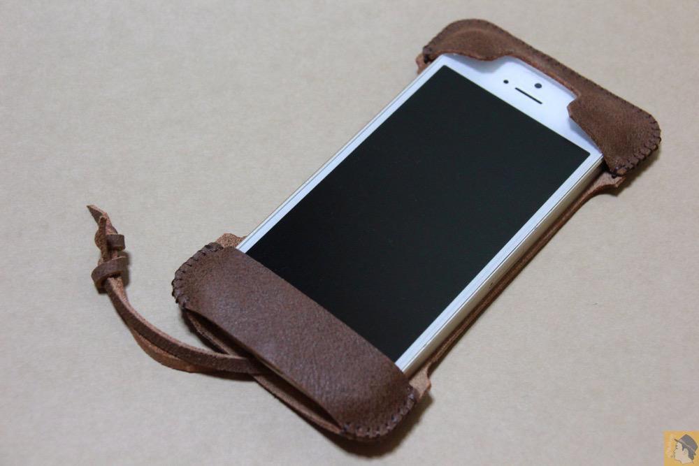 アイキャッチ - abicase(アビケース) cawa シンプルジャケット / iPhone 5/5s / ペラペラな革使ったabicase アビケース