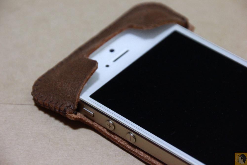 上部フラップ - ペラペラな革使ったabicase(アビケース)/ abicase cawa シンプルジャケット / iPhone 5/5s