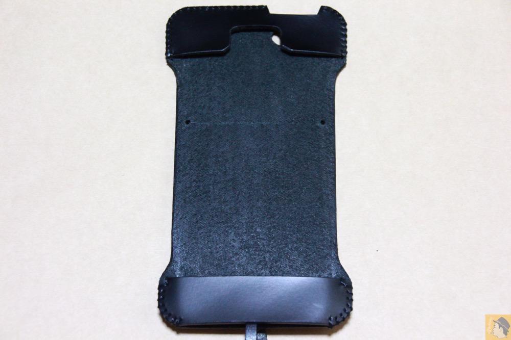 表面 - 2枚革じゃないけどウォレットジャケットのabicase(アビケース)/ abicase cawa ウォレットジャケット スムースレザー / iPhone 5/5s
