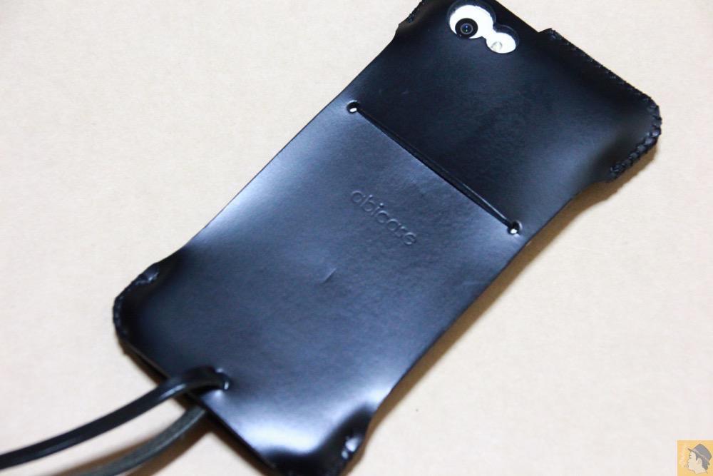 アイキャッチ - abicase(アビケース) cawa ウォレットジャケット スムースレザー / iPhone 5/5s / 2枚革じゃないけどウォレットジャケットのabicase