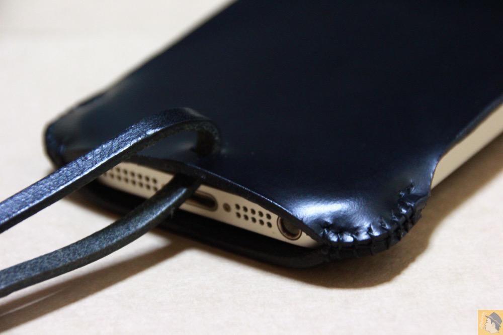 フラップ下部 - abicase(アビケース) cawa ウォレットジャケット スムースレザー / iPhone 5/5s / 2枚革じゃないけどウォレットジャケットのabicase