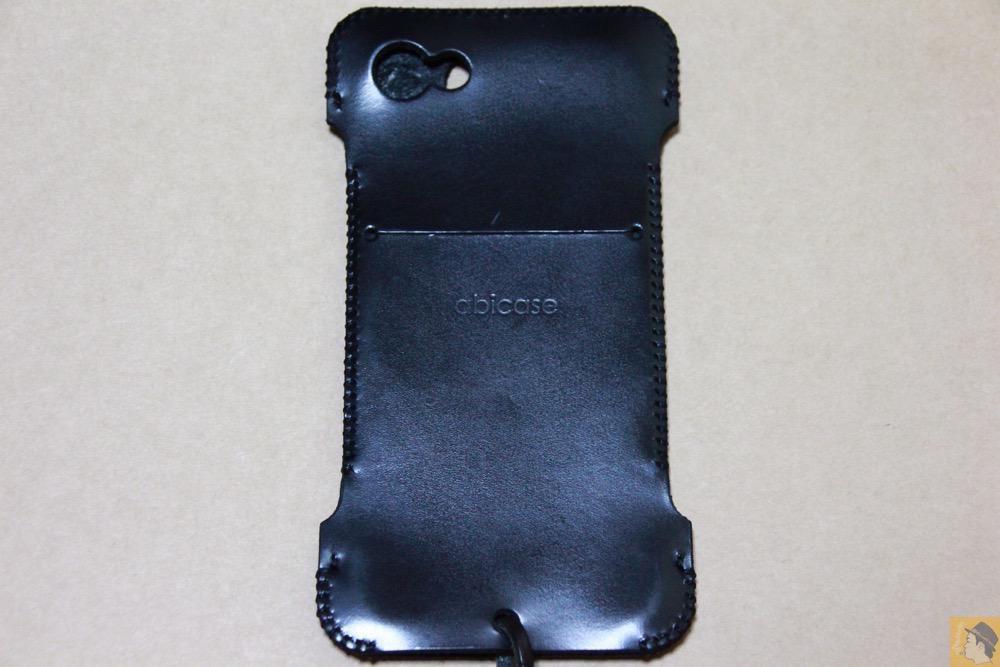 背面 - abicase(アビケース) cawa ウォレットジャケット スムースレザー / iPhone 5/5s / これまた思い入れあるabicase アビケース