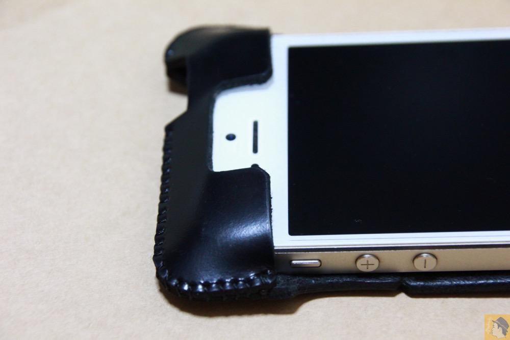 上部フラップ - abicase(アビケース) cawa シンプルジャケット スムースレザー / iPhone 5/5s / abicase アビケース