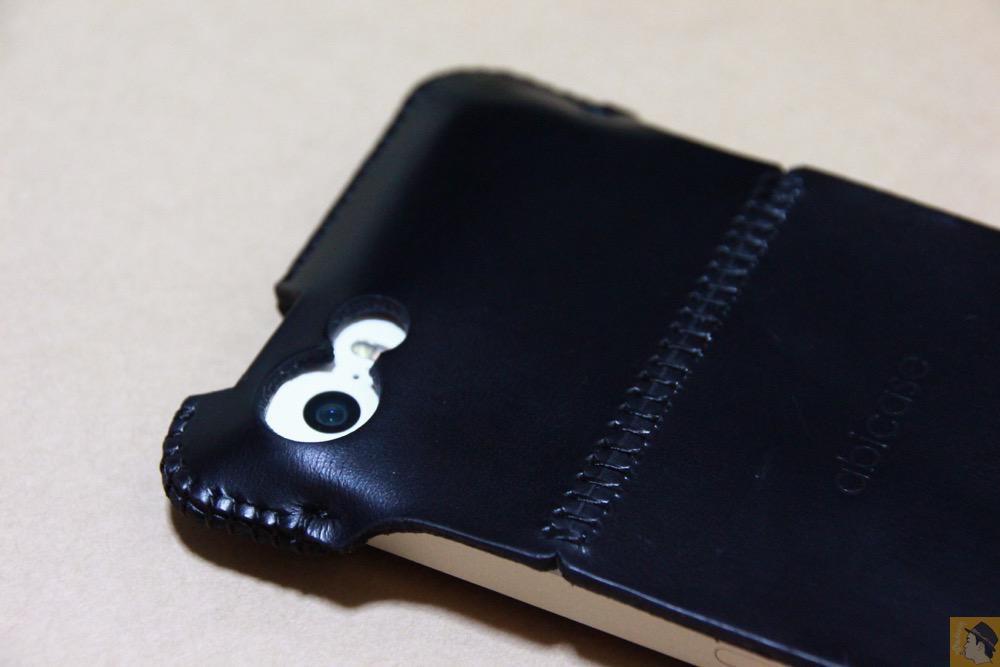 カメラ穴 - abicase(アビケース) cawa シンプルジャケット スムースレザー / iPhone 5/5s / abicase アビケース