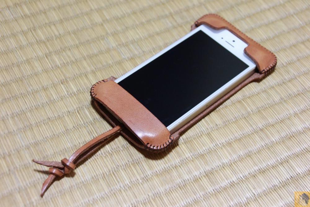 アイキャッチ - abicase(アビケース) cawa 栃木レザー 飴色 / iPhone 5/5s / ウォレットジャケットだらけの中シンプルなabicase