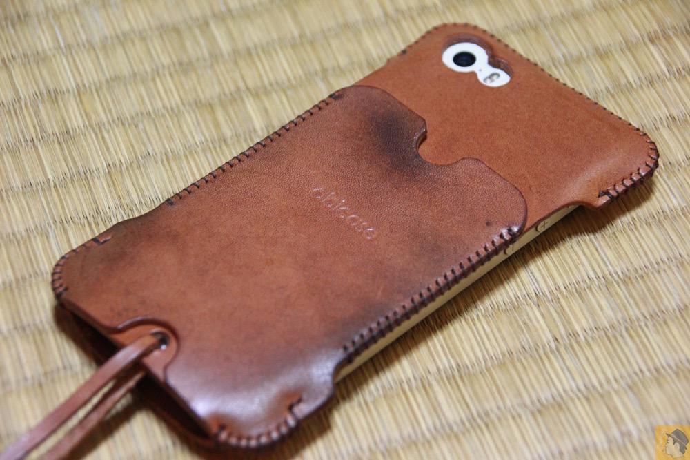 アイキャッチ - abicase(アビケース) cawa 栃木レザー 飴色 / iPhone 5/5s / 今となっては珍しいタイプのabicase