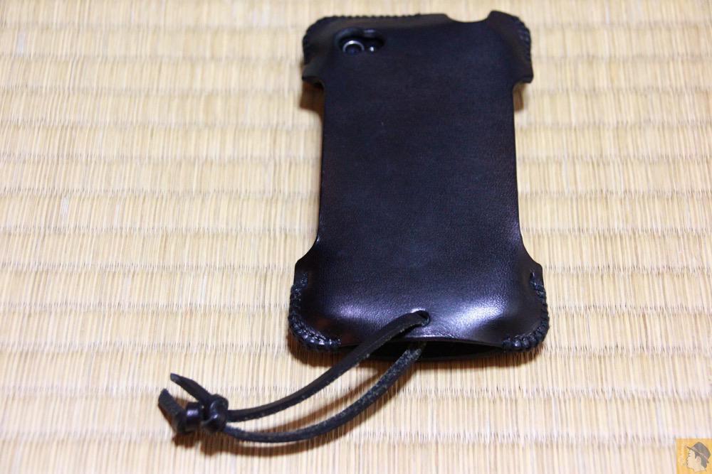 全体 - abicase(アビケース) cawa 栃木レザー ブラック / iPhone 4S / 必ず買う色のabicase
