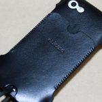 まだあった珍しいタイプのabicase(アビケース)/ abicase cawa ウォレットジャケット 栃木レザー / iPhone 5/5s