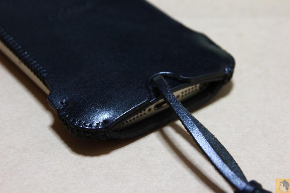 背面下部 - まだあった珍しいタイプのabicase(アビケース)/ abicase cawa ウォレットジャケット 栃木レザー / iPhone 5/5s