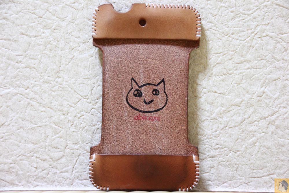 表面 - 想い入れあり、今見ても愛着あるabicase(アビケース)/ abicase cawa シンプルジャケット 栃木レザー ナチュラル / iPhone 4S