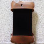 想い入れあり、今見ても愛着あるabicase(アビケース)/ abicase cawa シンプルジャケット 栃木レザー ナチュラル / iPhone 4S