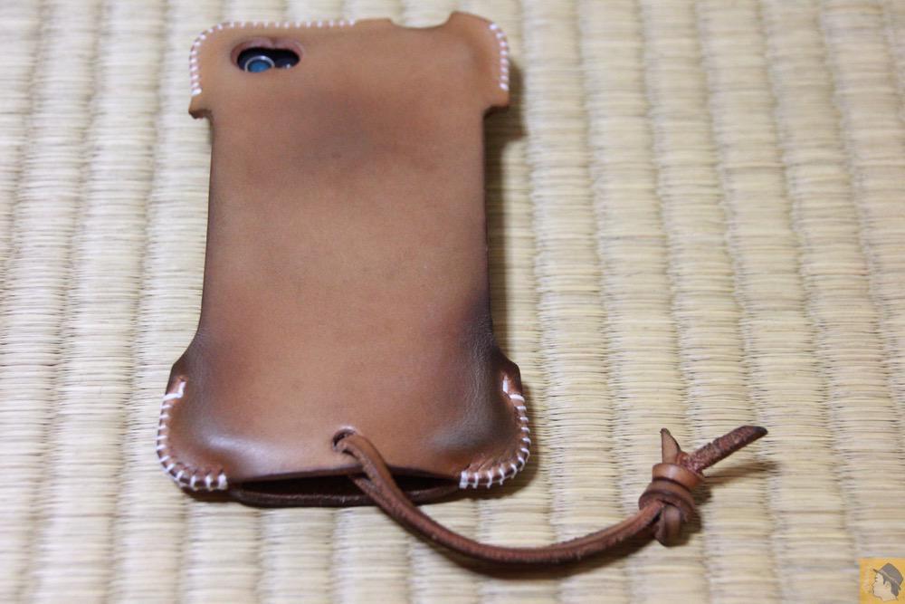 尻尾がこのころからつきだした - abicase(アビケース) cawa 栃木レザー ナチュラル / iPhone 4S / 想い入れあるabicase