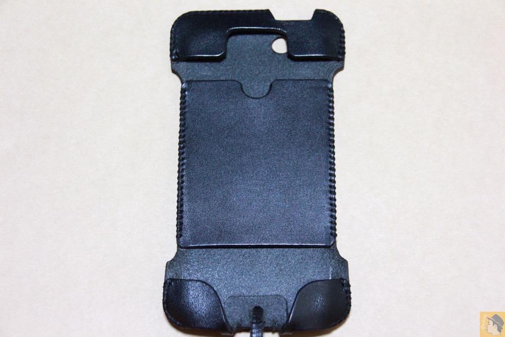 表面 - 指紋認証に初めて対応したabicase(アビケース)/ abicase cawa ウォレットジャケット 栃木レザー ブラック  / iPhone 5/5s