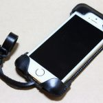 指紋認証に初めて対応したabicase(アビケース)/ abicase cawa ウォレットジャケット 栃木レザー ブラック  / iPhone 5/5s