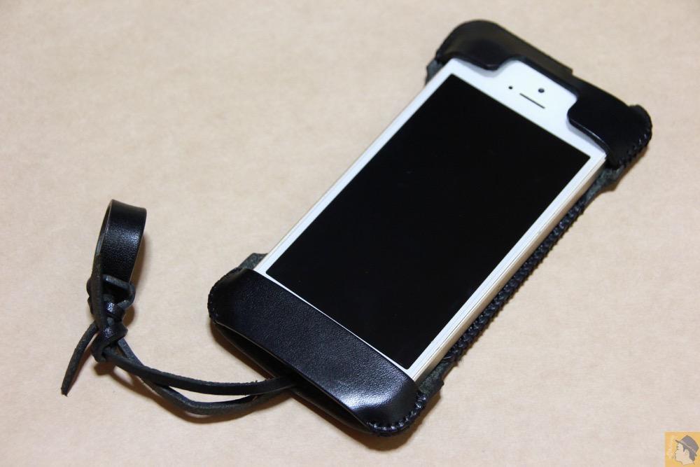 アイキャッチ - abicase(アビケース) cawa wallet jacket 栃木レザー ブラック / iPhone 5/5s / 自分の中では外せないカラーのabicase
