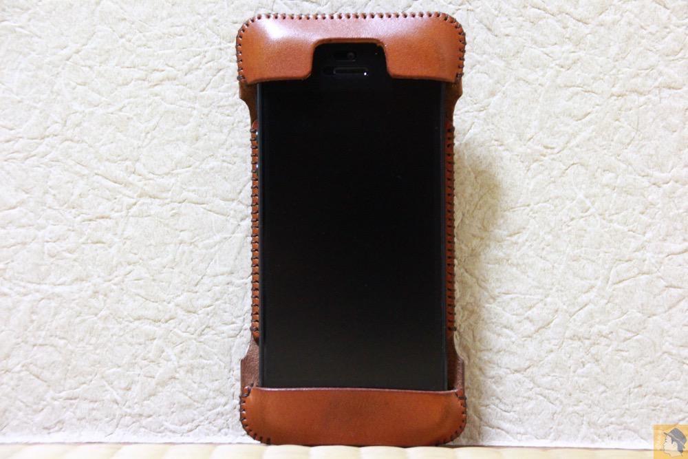 アイキャッチ - abicase(アビケース) cawa wallet jacket 栃木レザー キャメル / iPhone 5/5s / エイジングすると良い色になるabicase