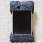 初めて買ったabicase(アビケース)/ abicase felt gray / iPhone 3GS