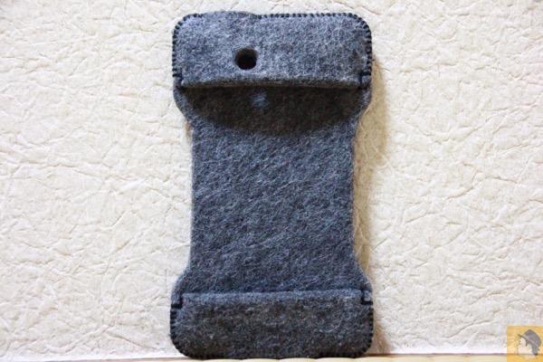 表面 - 初めて買ったabicase(アビケース)/ abicase felt gray / iPhone 3GS
