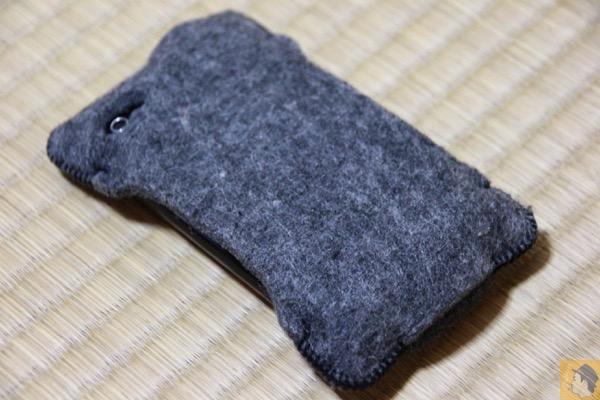 フェルトのabicase - 初めて買ったabicase(アビケース)/ abicase felt gray / iPhone 3GS