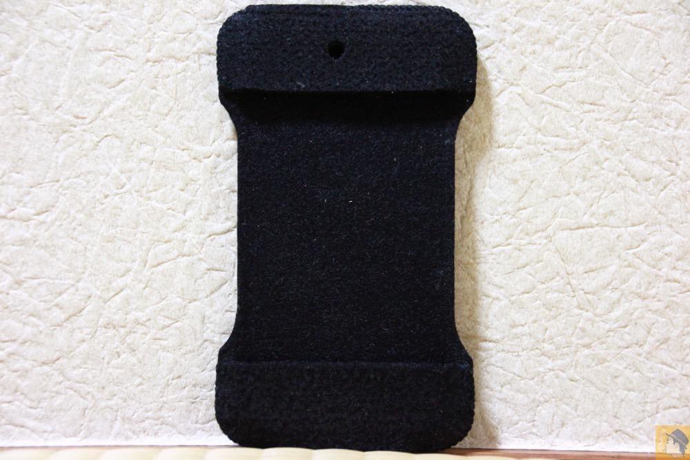 表面 - 粗雑に扱ったフェルト製abicase(アビケース)/ abicase felt black / iPhone 4S