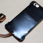 墨のような黒さのabicase(アビケース)/ abicase cawa ウォレットジャケット コードバン 墨黒 / iPhone 6/6s