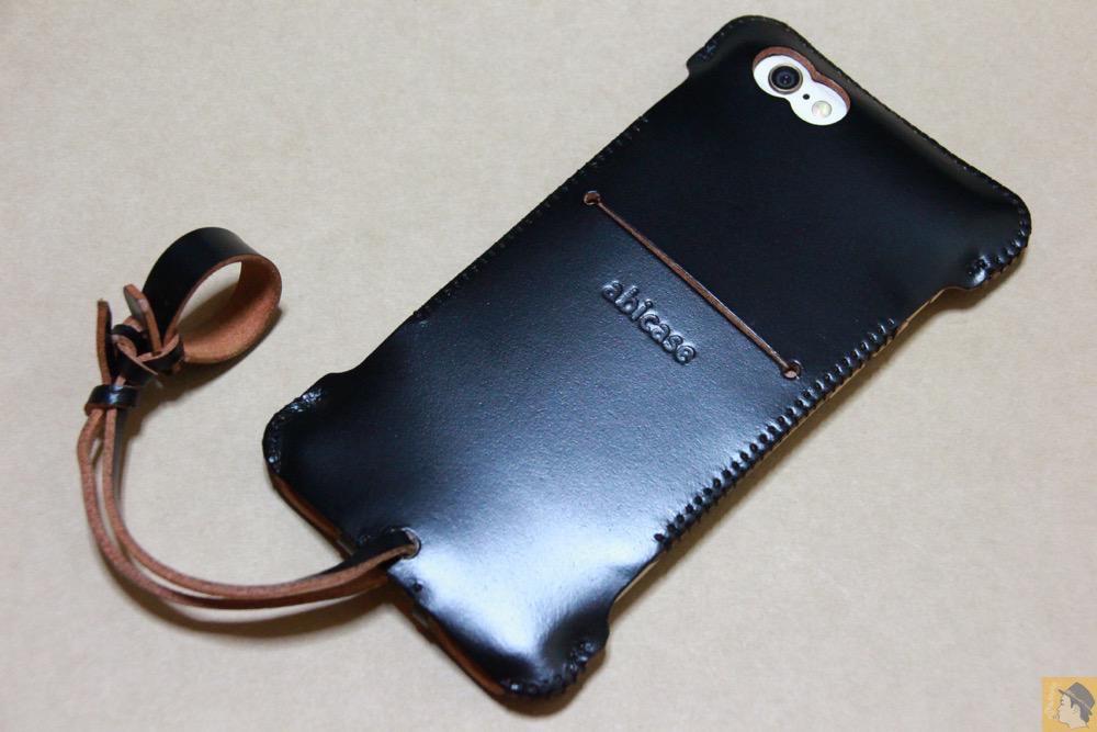 アイキャッチ - abicase(アビケース) cawa ウォレットジャケット コードバン 墨黒 / iPhone 6/6s / 墨のような黒さのabicase