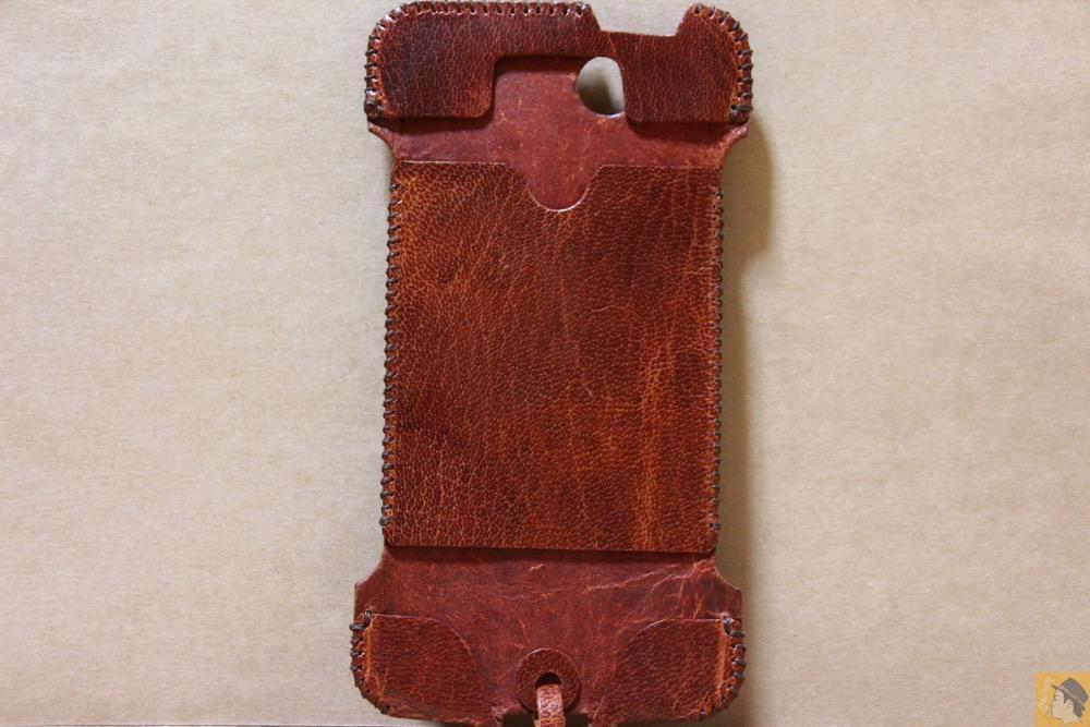 表面 - abicase(アビケース) cawa ウォレットジャケット 鹿革 / iPhone 5/5s / 珍しい鹿革を使ったabicase