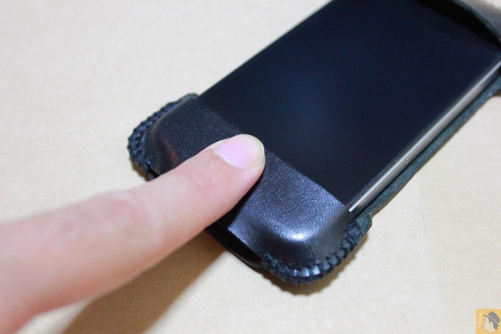 アイキャッチ - abicase(アビケース)のユーザ視点に立った工夫、ホームボタンが押しやすくなる / iPhone 4S [レビュー 4/40]