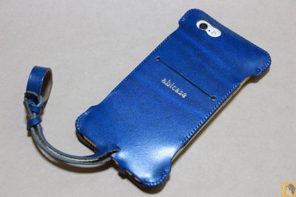 アイキャッチ - abicase(アビケース) cawa ウォレットジャケット ルガトレザー ブルー / iPhone 6/6s / 虎模様が綺麗なabicase