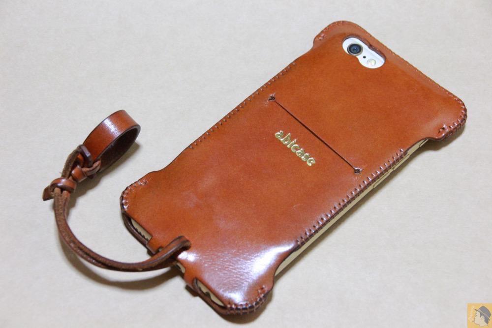 アイキャッチ - abicase(アビケース) cawa ウォレットジャケット 栃木レザー キャメル / iPhone 6/6s / シンプルにしようと決めシンプルにしたabicase