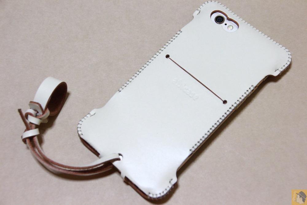 アイキャッチ - abicase(アビケース) cawa ウォレットジャケット 栃木レザー シロ / 銀面真っ白iPhone 6/6s / 真っ白abicase
