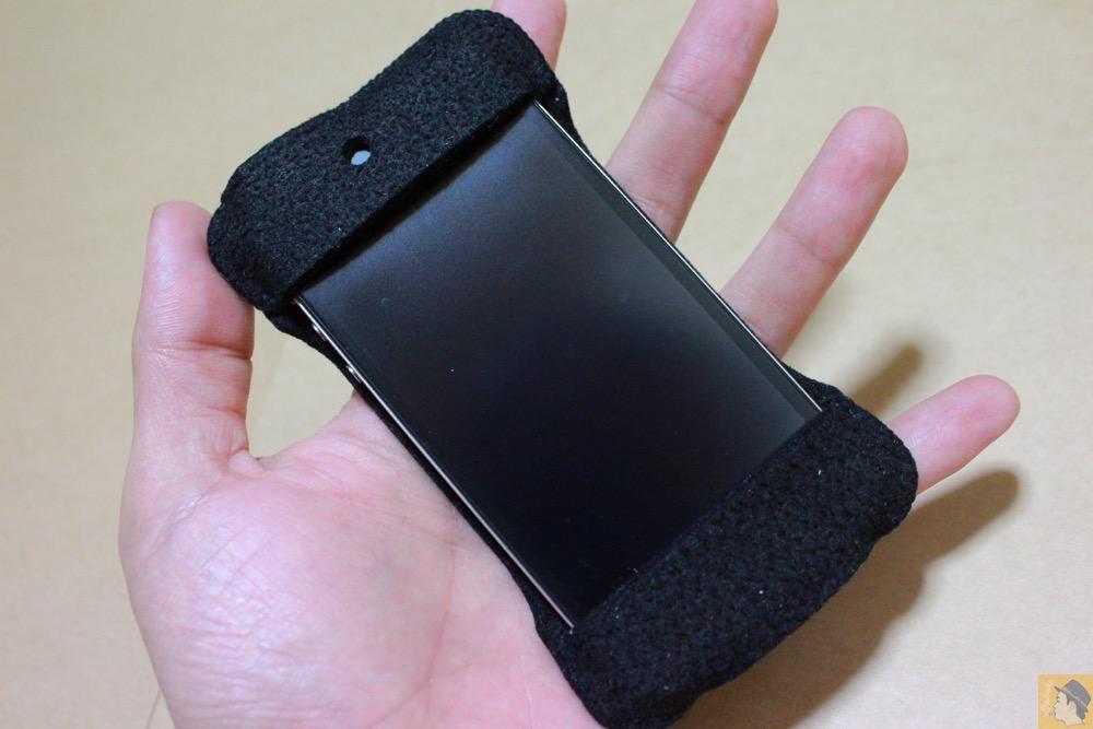 アイキャッチ - 初期abicase(アビケース)第2弾 / 薄いフェルトが裸で持っている感覚 / iPhone 4S [レビュー 2/40]