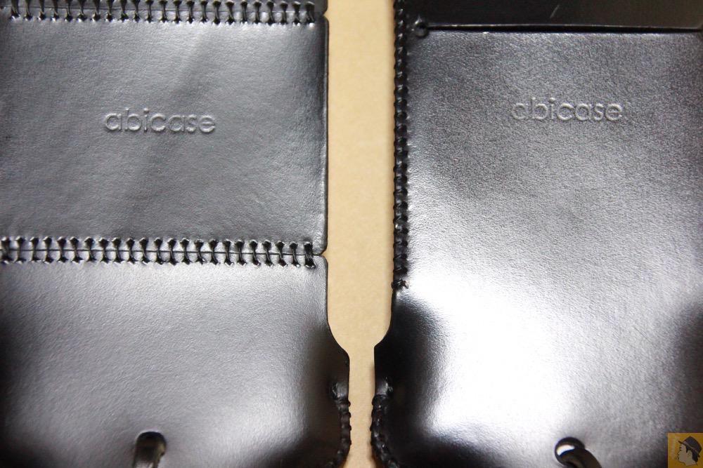 銀面の輝き - スムースレザーのabicase(アビケース)、経年変化で増す銀面の輝き / iPhone 5/5s [レビュー 14/40]