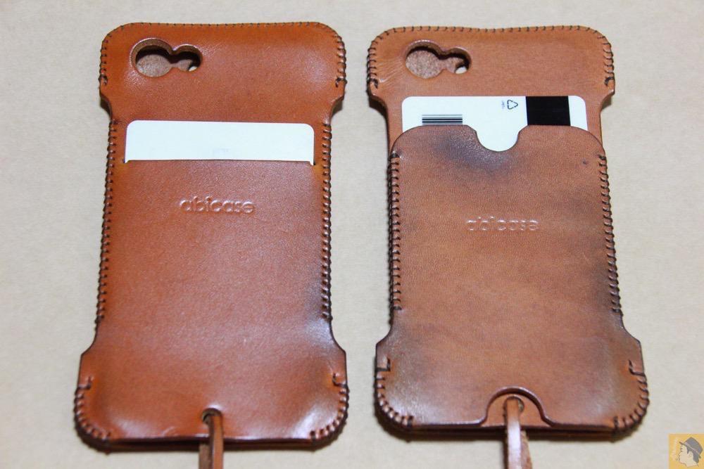 ウォレットジャケット - 現在は製造していない珍しいabicase(アビケース)のウォレットジャケット / iPhone 5/5s [レビュー 10/40]