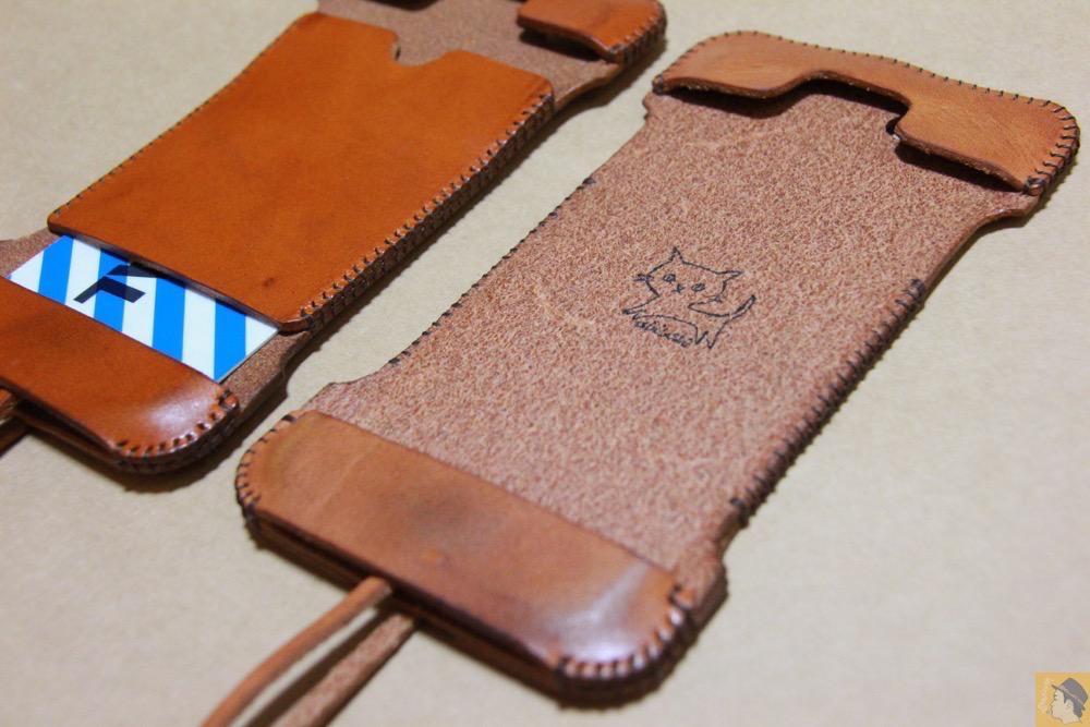ウォレットジャケット3 - 現在は作られていない珍しいabicase(アビケース)のウォレットジャケット / iPhone 5/5s [レビュー 10/40]