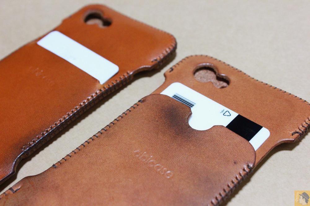ウォレットジャケット2 - 現在は作られていない珍しいabicase(アビケース)のウォレットジャケット / iPhone 5/5s [レビュー 10/40]