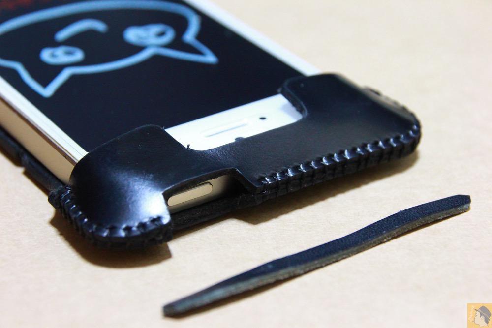 サムネイル - ボタンが更に押しやすくなったabicase(アビケース)、押す位置を分かりやすくするためデザインに工夫 / iPhone 5/5s [レビュー 20/40]