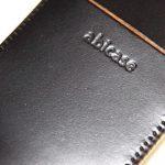 コードバンabicase アビケース 銀面が墨で色付けしたかのような黒さです / iPhone 6/6s [レビュー 32/40]