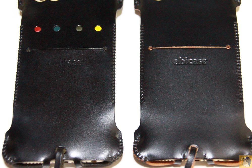 銀面が墨のような黒 - コードバンabicase アビケース 銀面が墨で色付けしたかのような黒さです / iPhone 6/6s [レビュー 32/40]