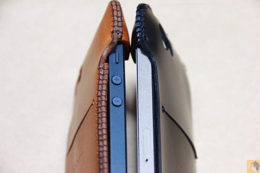 珍しいタイプ - 珍しいタイプのabicase(アビケース)ウォレットジャケット、1枚革でカード収納が出来る / iPhone 5/5s [レビュー 21/40]