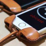 指紋認証対応abicase(アビケース)はコツ要らずでiPhone装着が出来る。そして現在にも受け継がれているデザイン / iPhone 5/5s [レビュー 23/40]