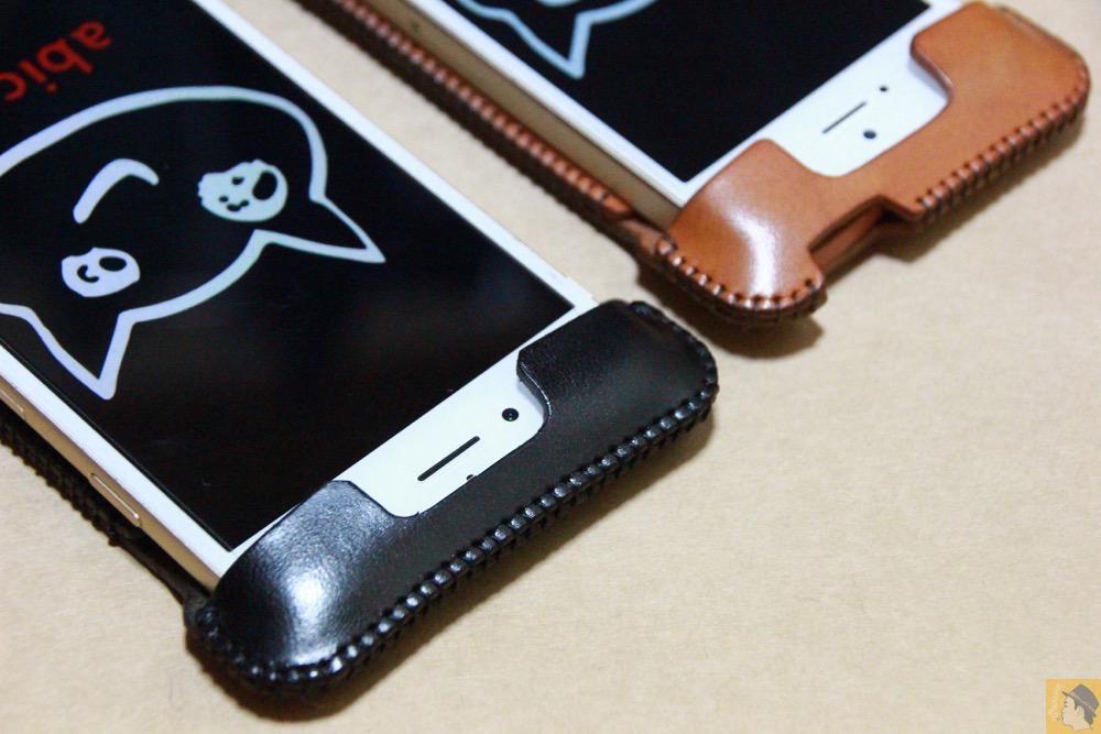 デザインがフラットになり見た目が綺麗になった - iPhone 6/6s用abicase(アビケース)はスリープボタンが移動したことで上部のデザインが変更されフラットに / iPhone 6/6s [レビュー 29/40]
