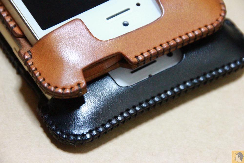 デザインがフラットになった - iPhone 6/6s用abicase(アビケース)はスリープボタンが移動したことで上部のデザインが変更されフラットに / iPhone 6/6s [レビュー 29/40]