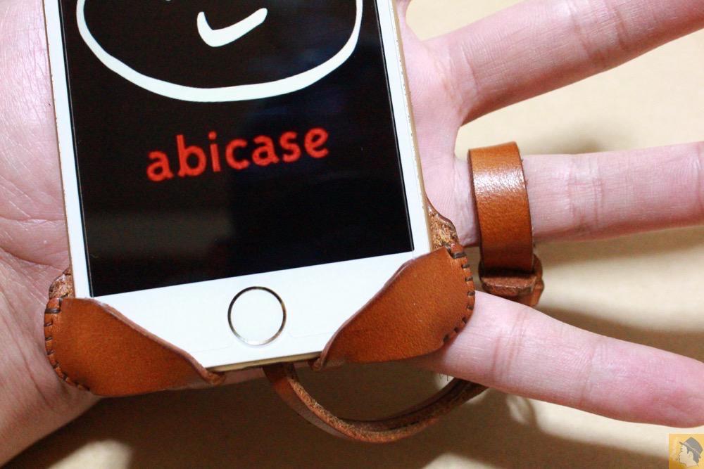 ストラップ - abicase アビケースの中で一番初めに作られたリンゴドット柄デザイン / iPhone 6/6s [レビュー 30/40]