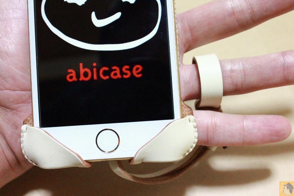 ストラップ - abicase アビケースは工夫の連続。フラップの工夫でiPhoneの画面下の操作がしやすい / iPhone 6/6s [レビュー 31/40]