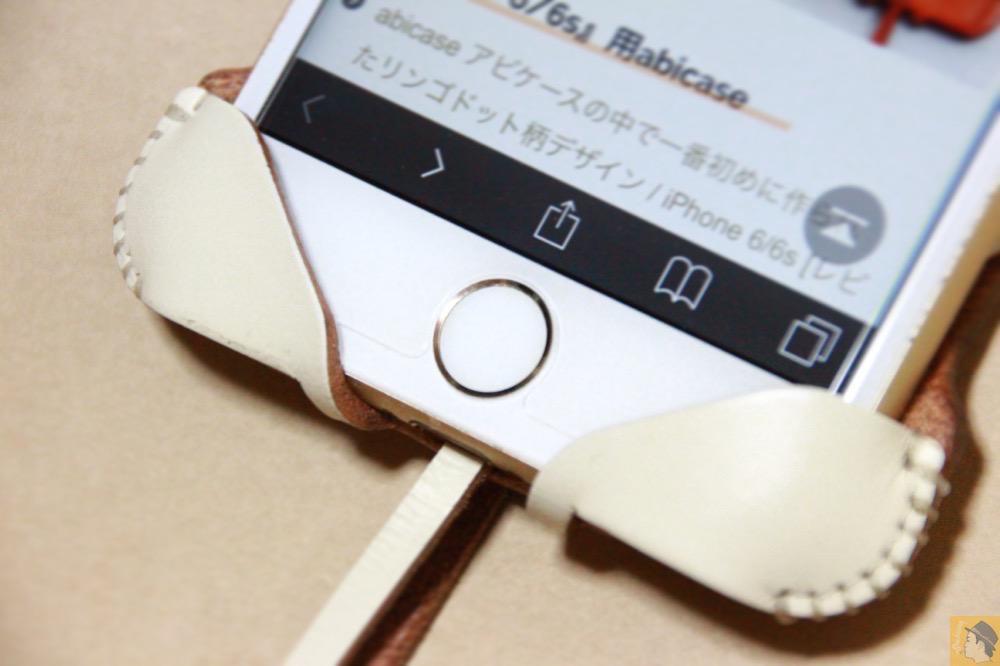 サムネイル - abicase アビケースは工夫の連続。フラップの工夫でiPhoneの画面下の操作がしやすい / iPhone 6/6s [レビュー 31/40]